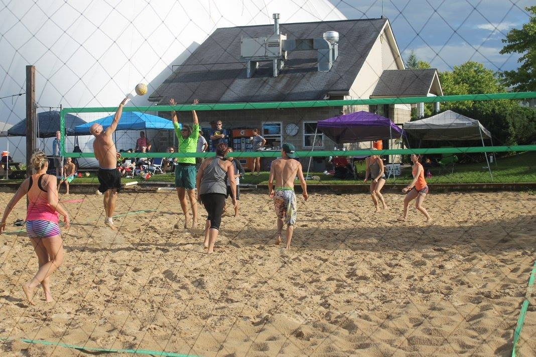 Waterford beach volleyball